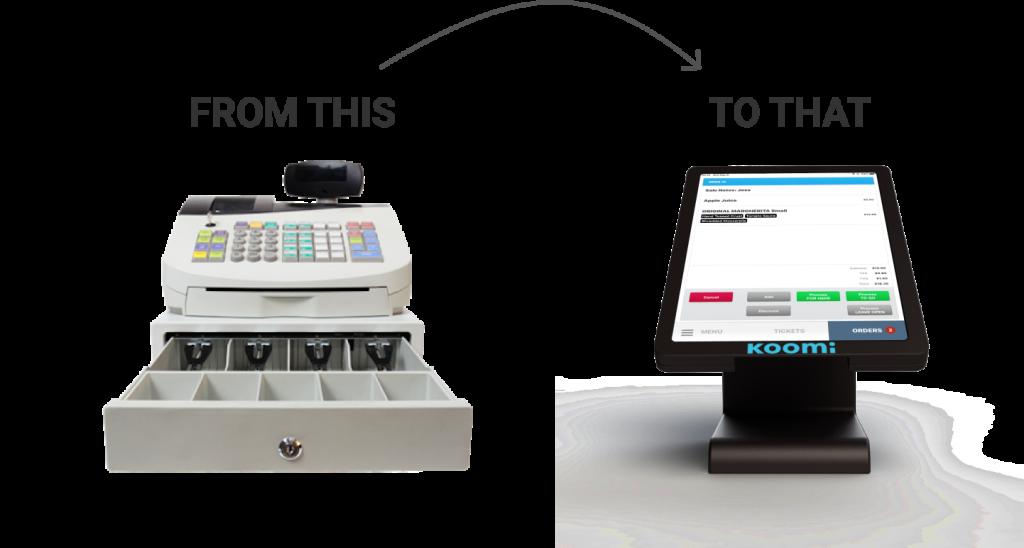 Cash register vs. POS System